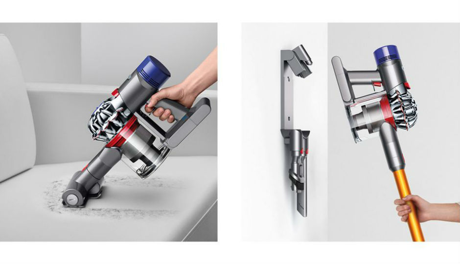 dyson v8 absolute plus vacuum cleaner launched in india first look and features overview. Black Bedroom Furniture Sets. Home Design Ideas