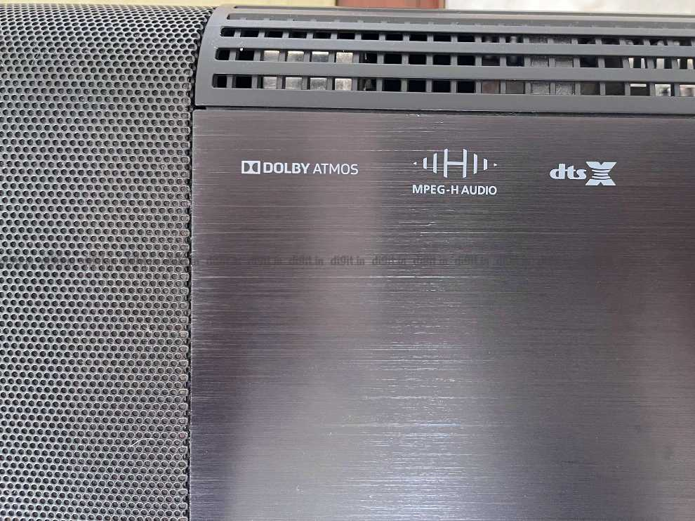 The Sennheiser Ambeo supports Dolby Atmos.