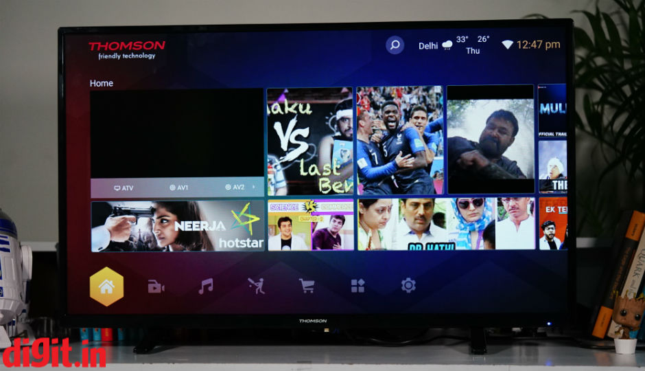 Thomson B9 40-inch Full HD TV LED Smart 102cm (40) Review   Digit.in