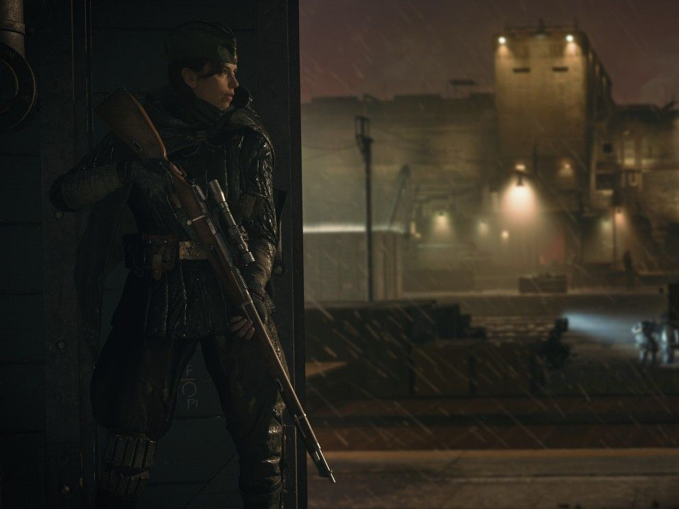 There are 4 playable characters in the call of duty vanguard single player.