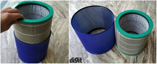 Dyson Pure Cool Link Air Purifier Review Ingenious Design
