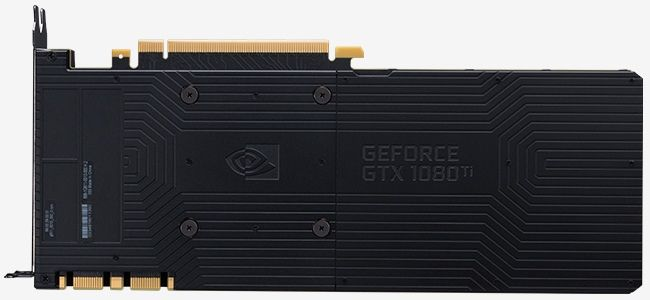 NVIDIA GeForce GTX 1080 Ti Graphics Card Back