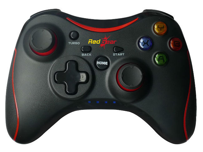 A gamepad enhances your mobile gaming experience.