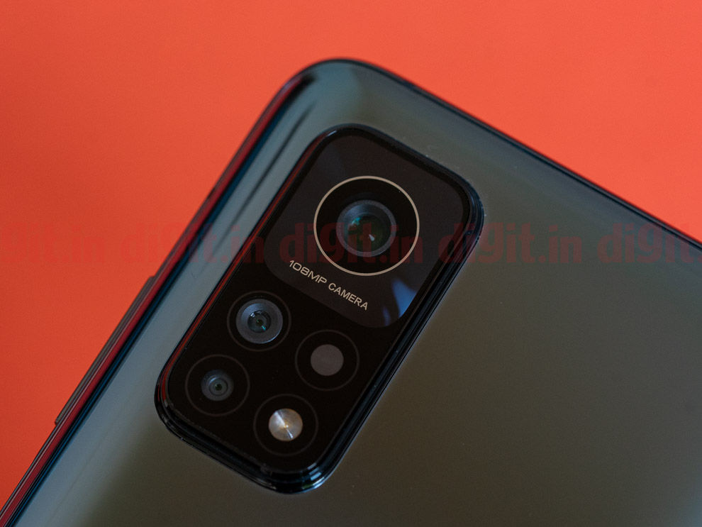 The Mi 10T Pro offers a triple camera setup with a 108MP camera as its star performer