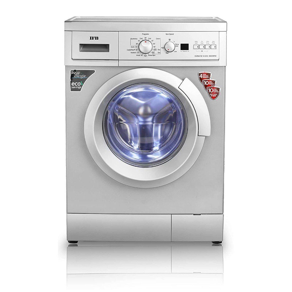 IFB 6.5 Kg Fully-Automatic Front Loading Washing Machine (Elena SX 6510)
