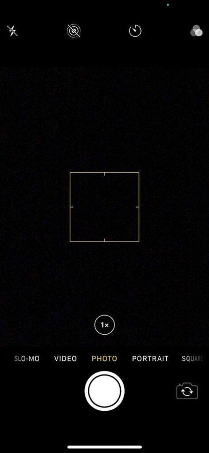 iOS 14 camera or microphone
