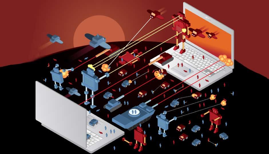 Image result for Cyber War