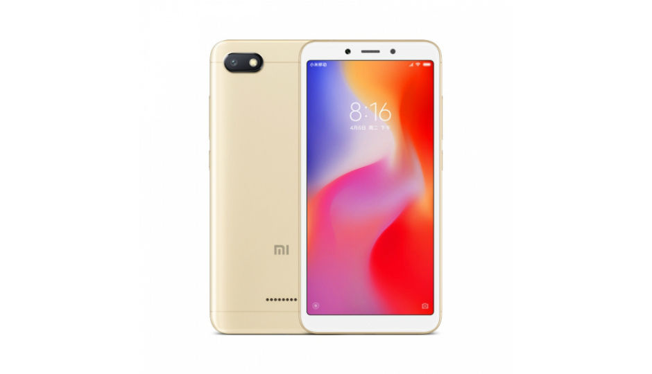 Xiaomi Redmi 6A to go on sale today via Amazon a552a5239d29