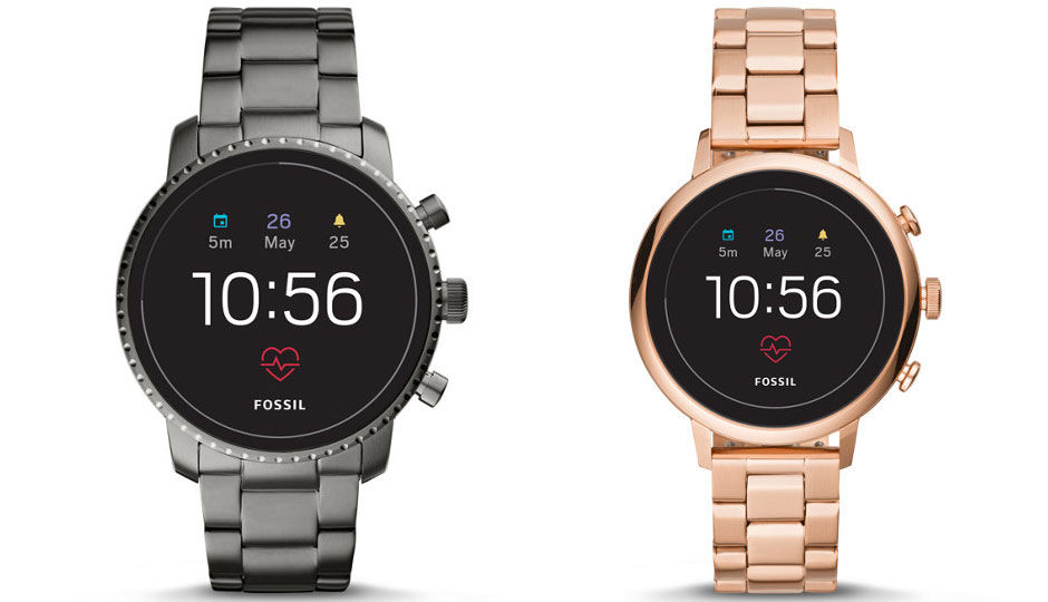 Fossil Announces Gen 4 Fossil Q Watches Includes Heart