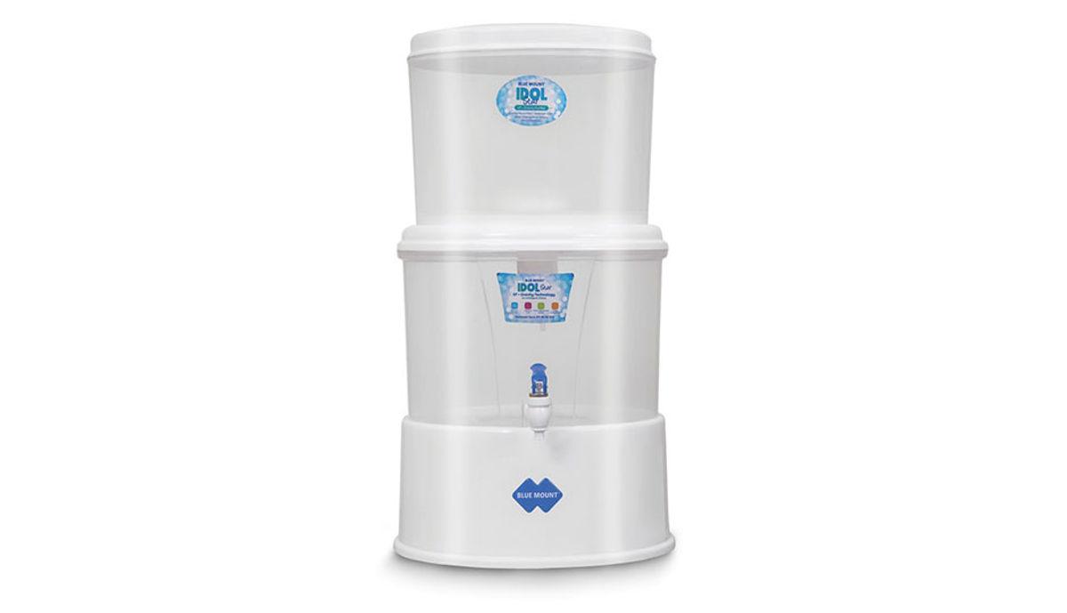 Blue Mount IDOL_STAR 18 L Gravity Based Water Purifier (White)