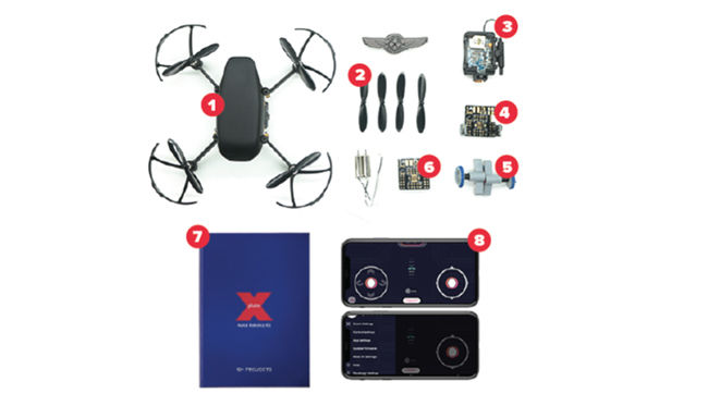 PlutoX DIY nano drone kit indiegogo Drona aviation