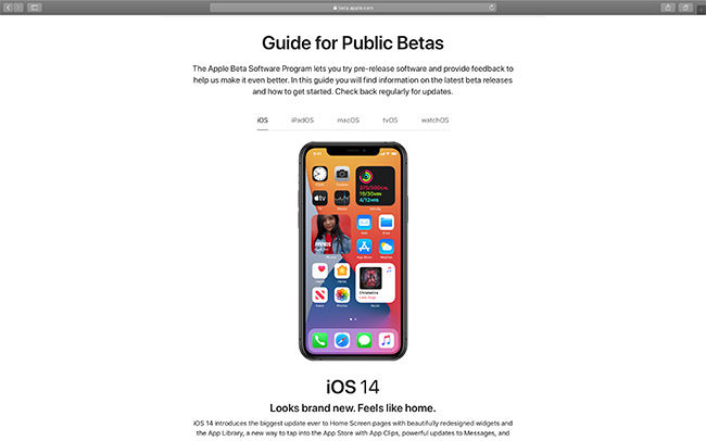 iOS14 Public Beta and iPadOS 14 Public Beta are now live for users to experience.