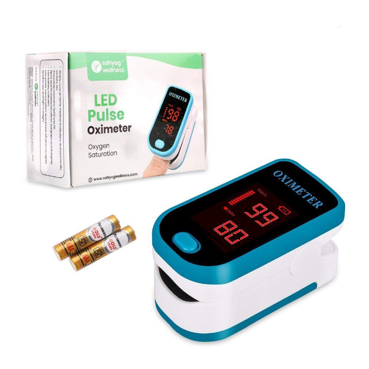 Sahyog Wellness LED Fingertip పల్స్ Oximeter
