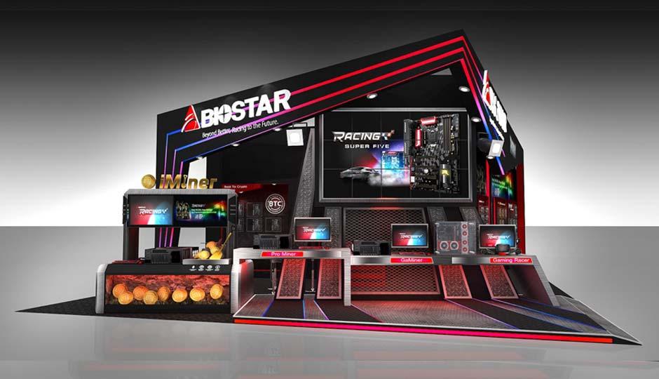 BIOSTAR showcases gaming, crypto mining and more at COMPUTEX 2018