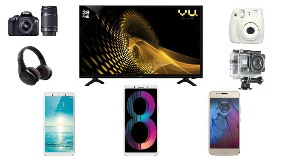 Best Paytm Mall deals roundup: Cashback on cameras, televisions, smartphones and more - 5d044400f20ba8263652303d81ddac46529951f9