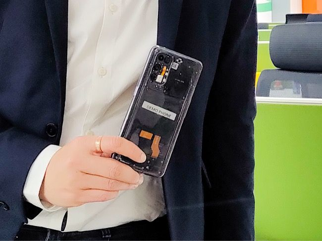 Transparent edition of Realme X7 Pro