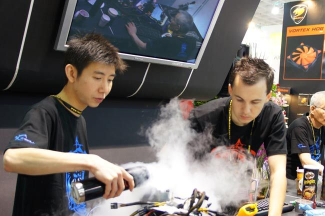 G.SKill Overclocking Competition