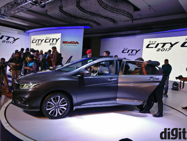 Honda City 2017 Launched In India Ex Showroom Prices Start At Rs 8