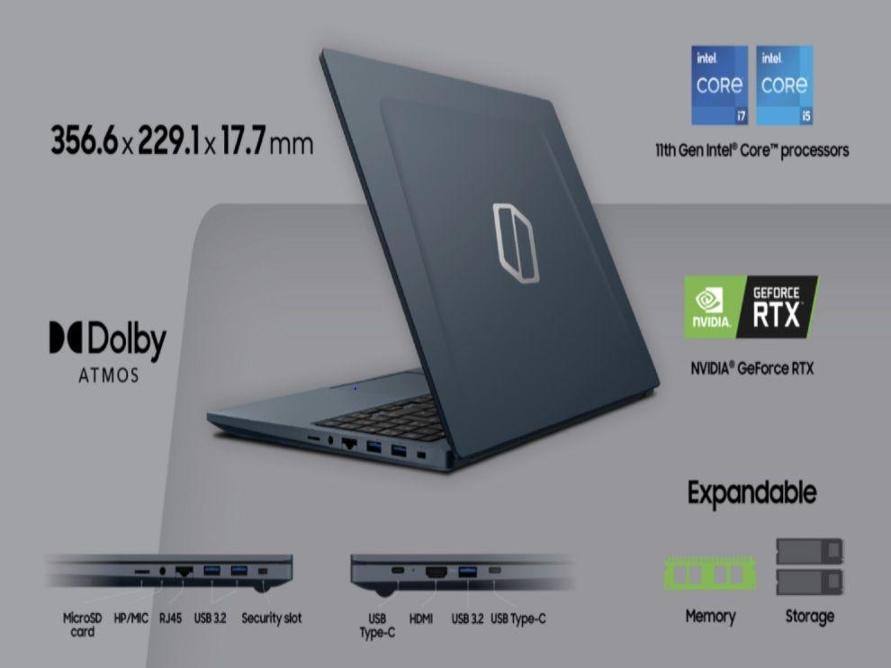 Samsung Galaxy Book Odyssey Design