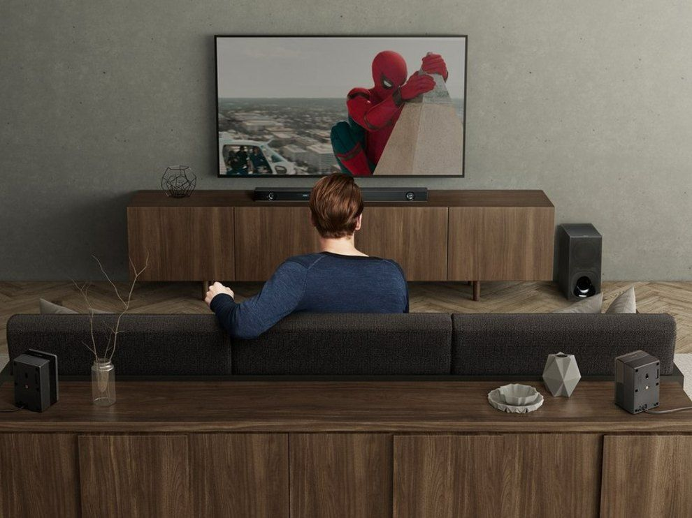 Sony HT-Z9F is a Dolby Atmos soundbar.