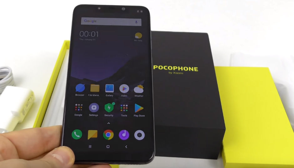 Xiaomi Pocophone F1 Confirmed To Feature Notched Display Could