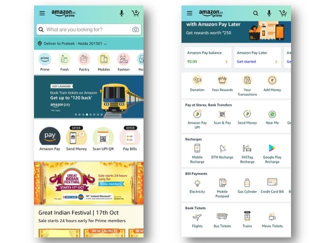 Amazon India launches train ticket booking