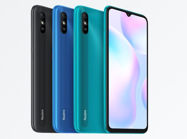 Xiaomi Redmi 9A in three colours