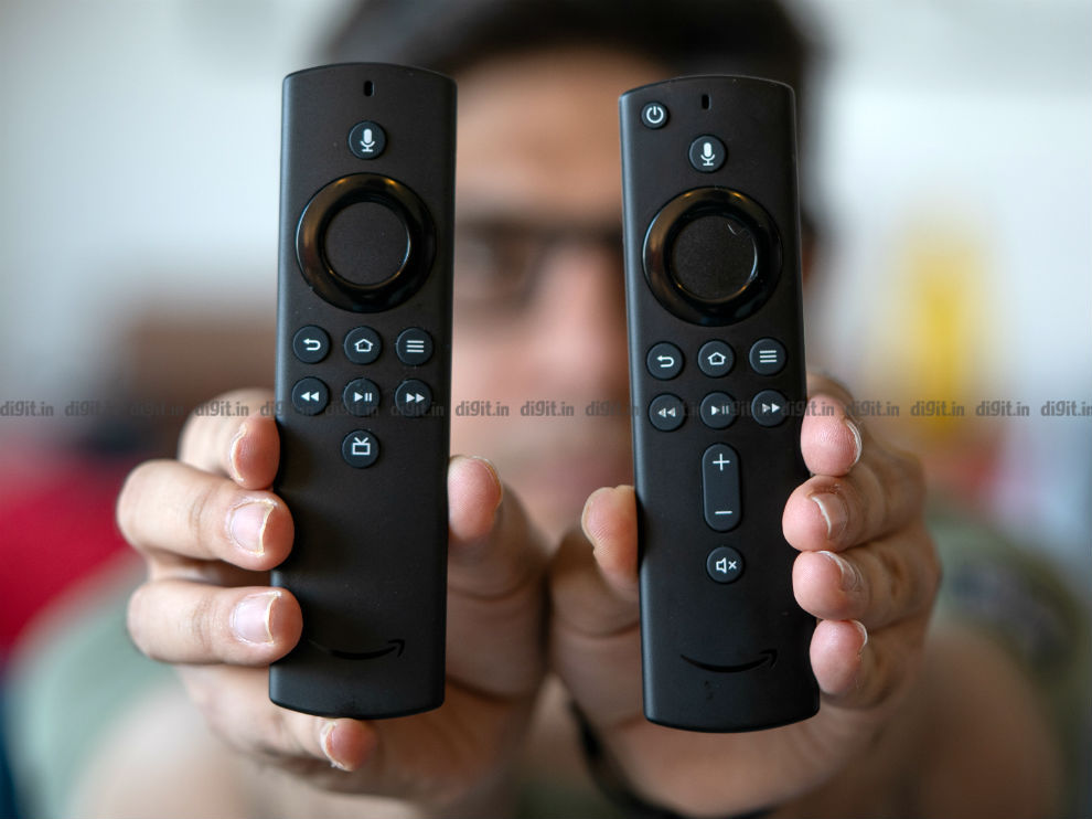 The Fire TV Stick 3rd gen and the Fire TV Stick Lite come with slightly different remote controls.
