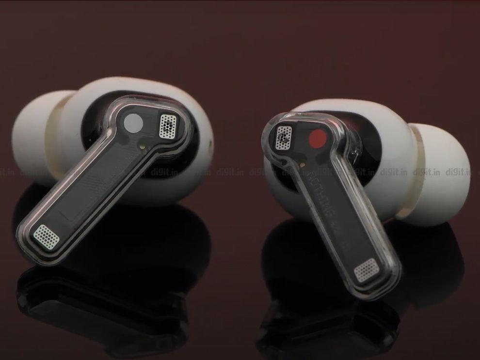 Nothing Ear 1 transparent design