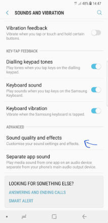 How to enhance audio quality on your Samsung smartphone