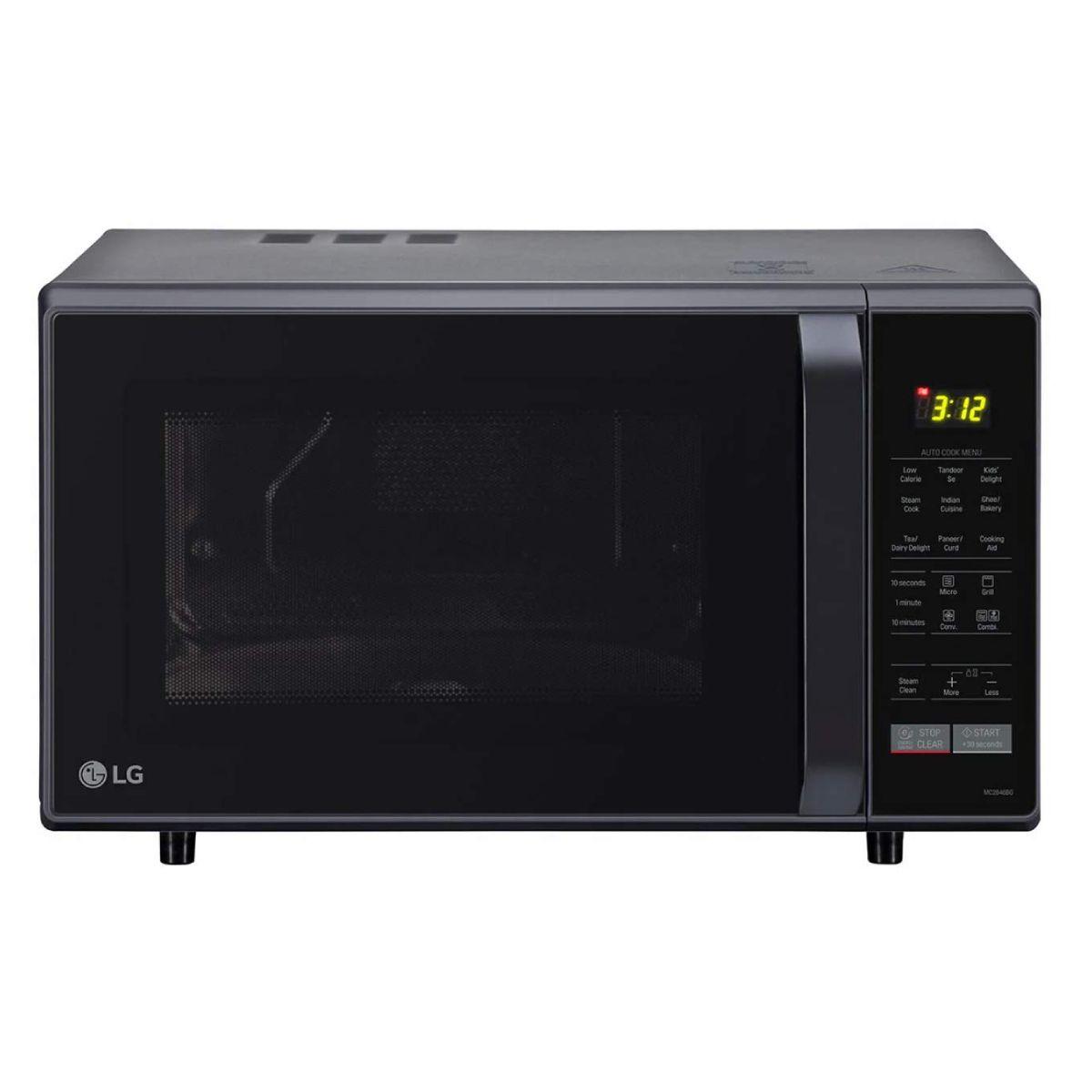 LG 28 L Convection Microwave Oven (MC2846BG)