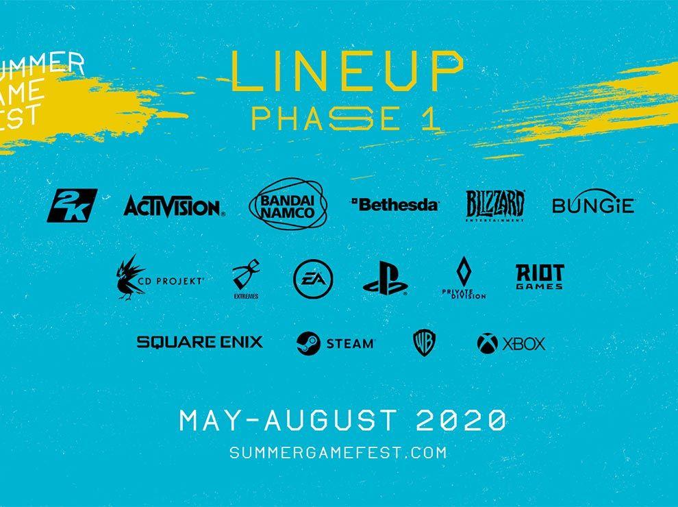 Summer game fest lineup