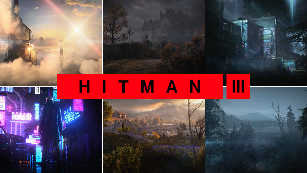 HITMAN 3 Locations Dubai UAE Berlin Germany Dartmoor UK Chongqing China Mendoz Argentina Carpathian Mountains Romania