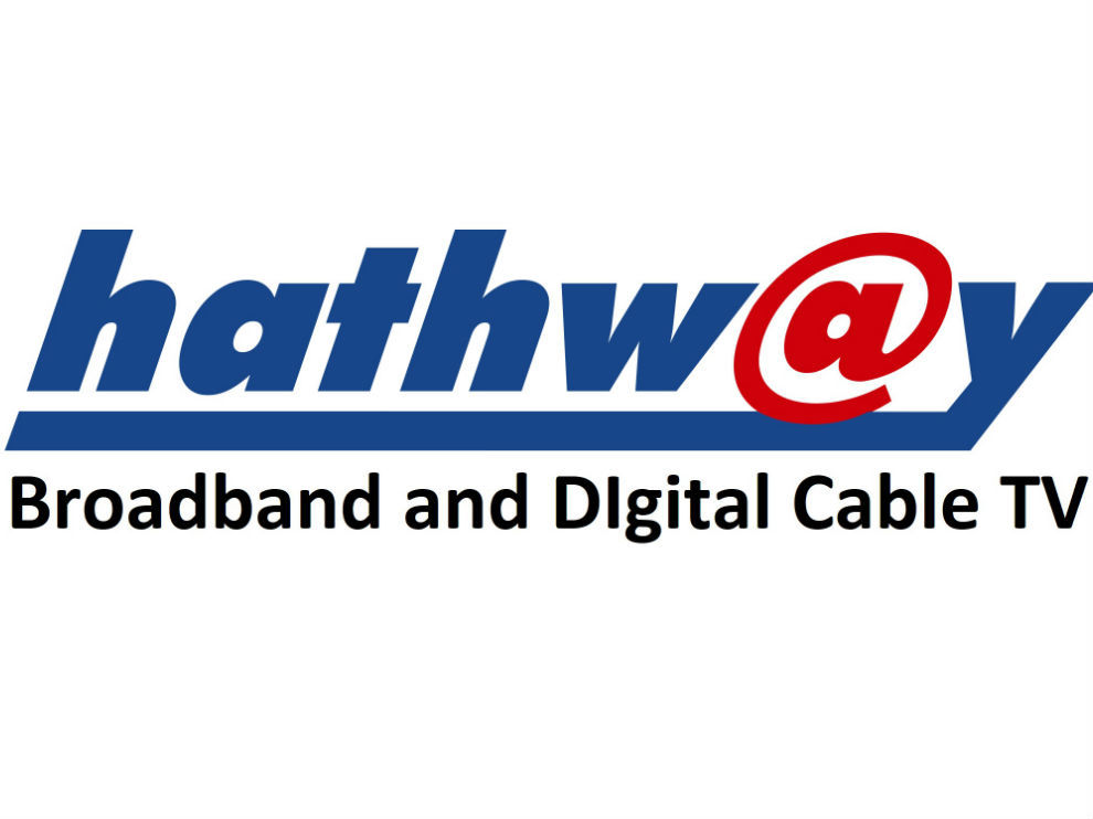 Hathway provides broadband connection with unlimited data usage.