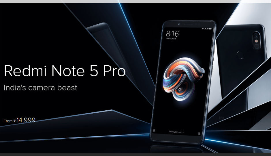 8a9887a4c52 Xiaomi Redmi Note 5 Pro is now available on open sale through Fli.