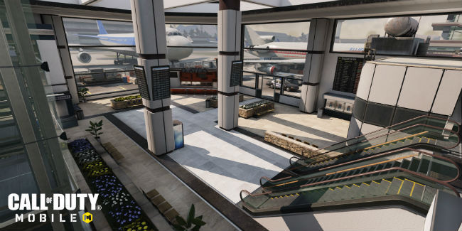 Call of Duty: Mobile's Terminal map features outdoor and indoor locations