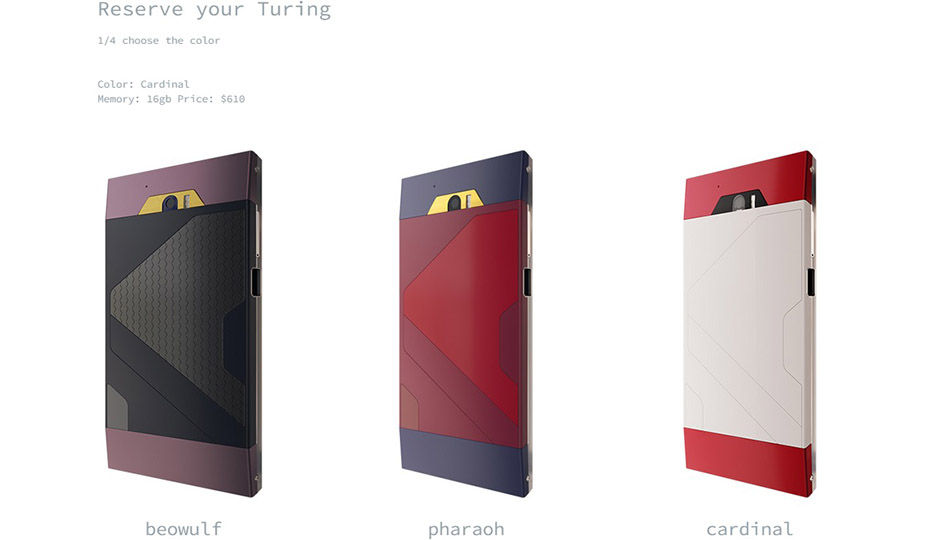 "The Turing Phone in ""Liquidmorphium"" in Reservation"