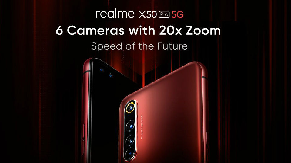 The Realme X50 Pro 5G could be priced at Rs 50,000, will launch in India on February 24