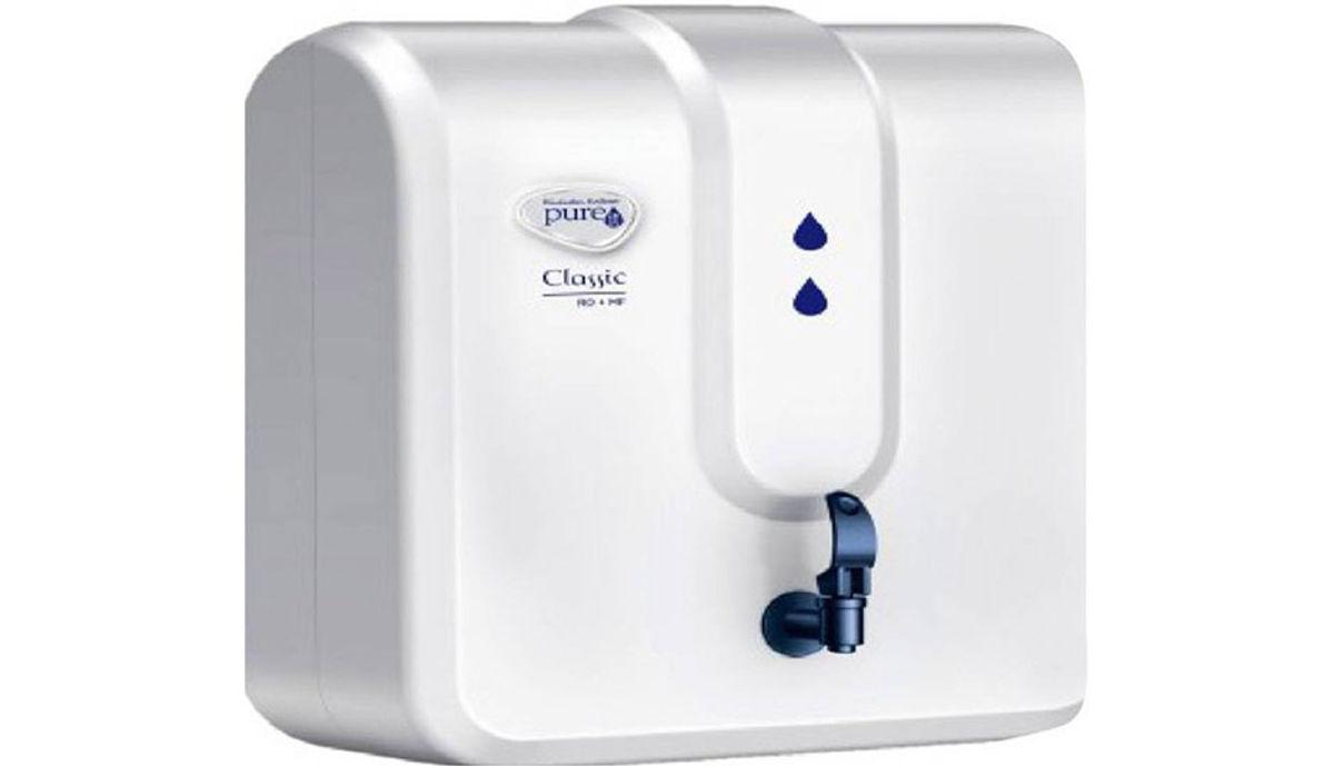 Pureit Classic 4 L RO + MF Water Purifier (White)
