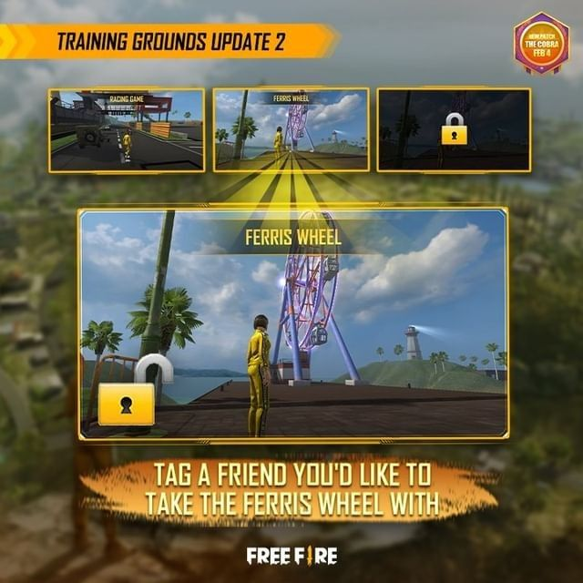 Garena Free Fire's OB26 update will improve the training grounds