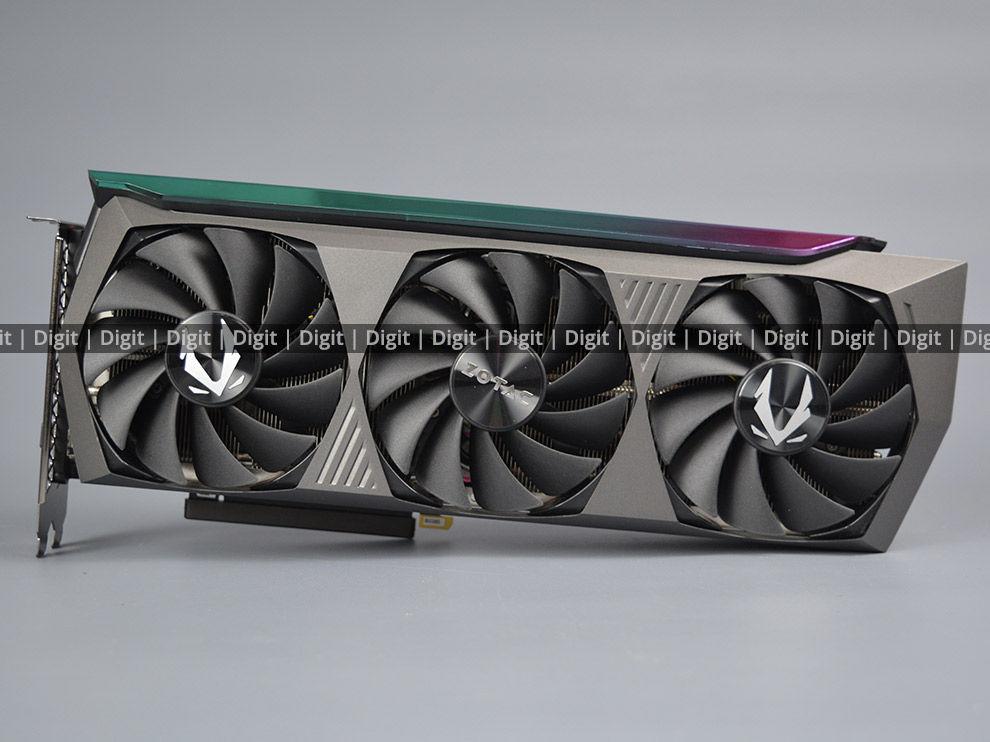 ZOTAC RTX 3080 Ti AMP Holo Front Cooler Design