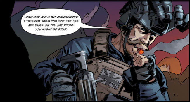 Call of Duty Mobile's in-game comic hints at the inclusion of night vision goggles