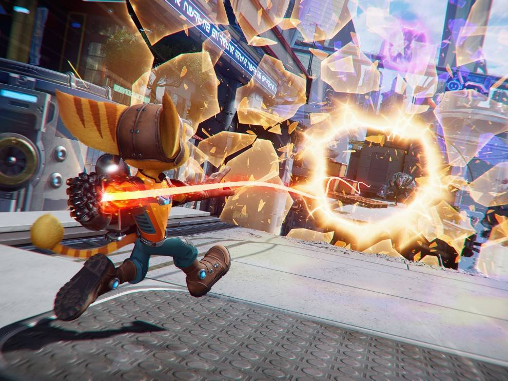 Jumping through Rift tears is a new gameplay mechanic.