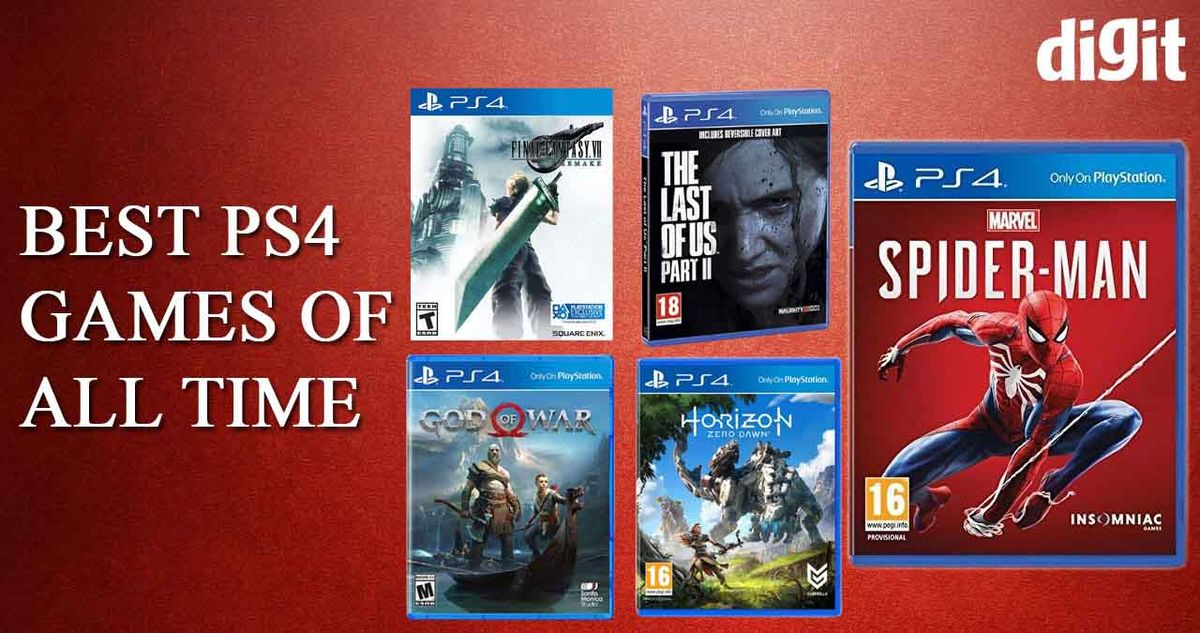 Best Ps4 Playstation 4 Games Of All Time 24 February 2021 Digit