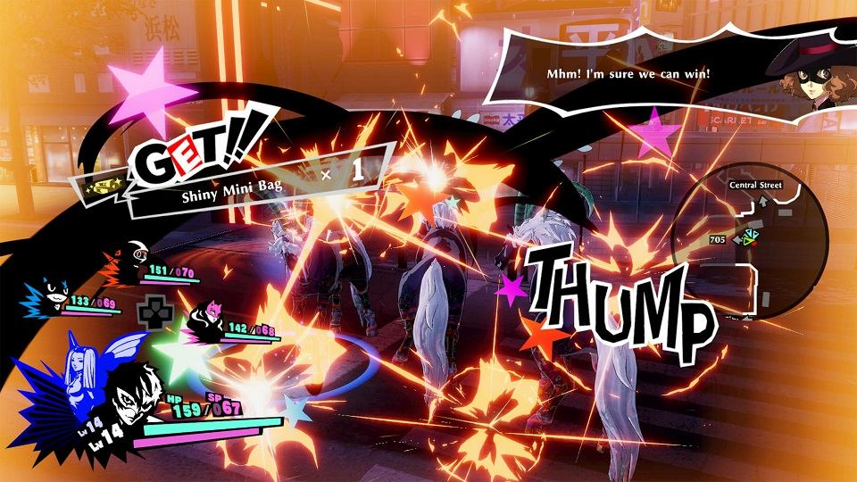 Persona 5 Strikers Gameplay and Combat
