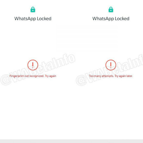 WhatsApp biometric authentication feature spotted in Android
