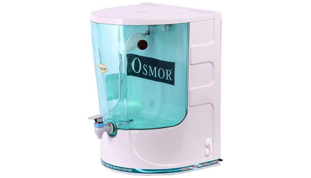 Osmor Gold Super Exclusive Water Purifier RO + UF PURIFIER 10 L RO + UF Water Purifier (White)