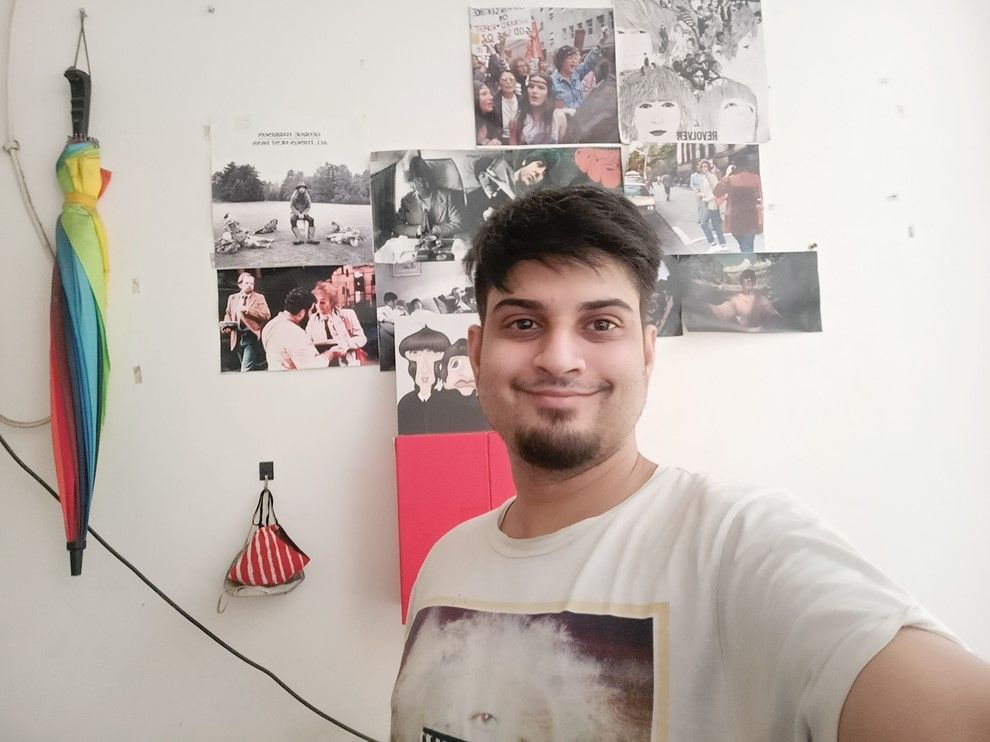 Realme Narzo 10 selfie camera sample