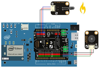 Fire Alarm System using AVR Microcontroller Security