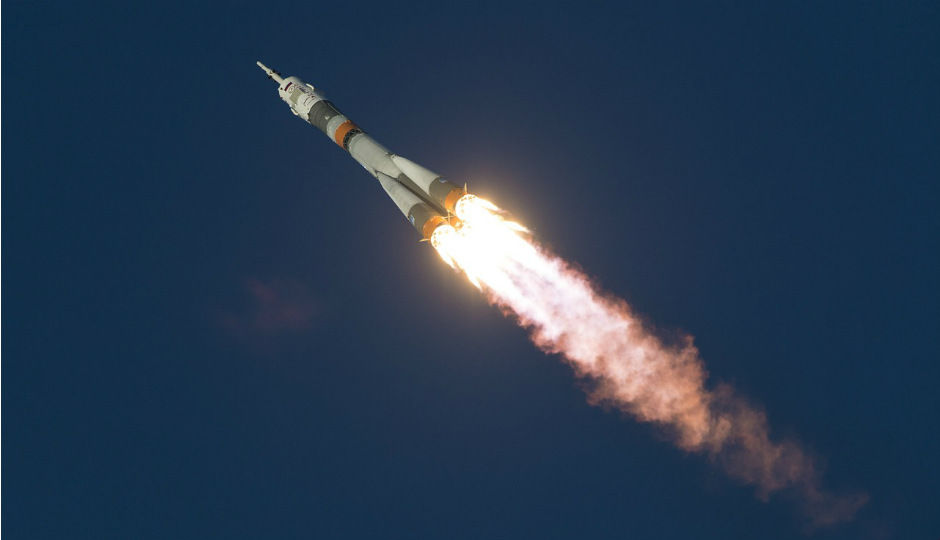 Crewed Soyuz docks safely with ISS